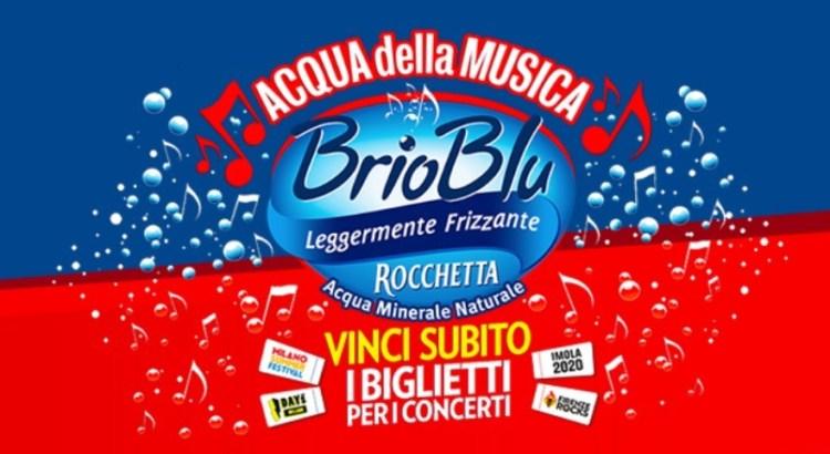 Concorso Brio Blu vinci biglietti concerti festival estivi