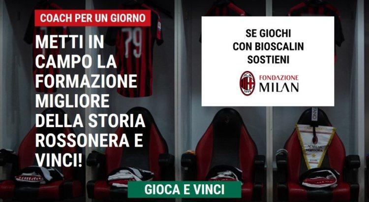 Concorso Bioscalin Milan Coach per un giorno