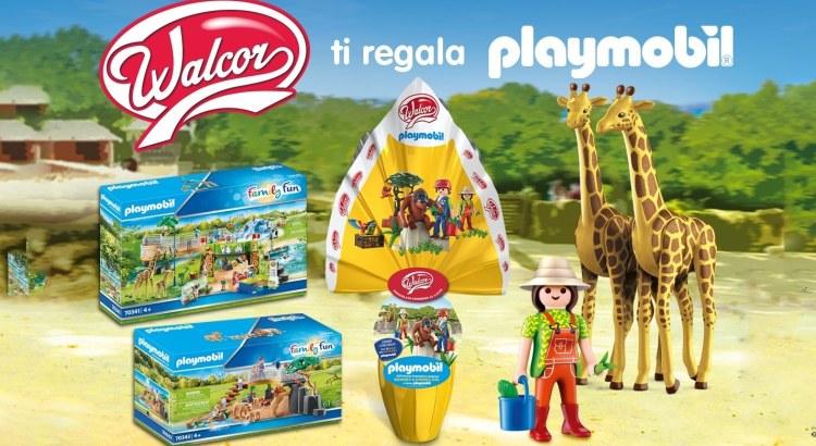 Concorso Uova di Pasqua Walcor Playmobil 2020
