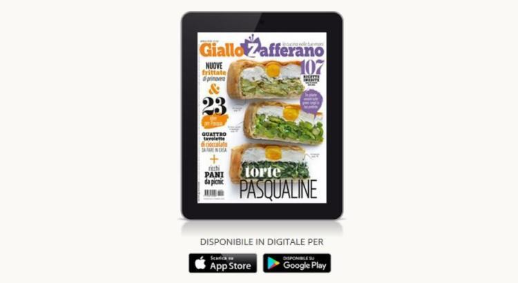 Abbonamento omaggio a Giallo Zafferano Digitale gratis per 3 mesi