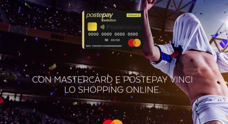 Concorso Postepay Evolution vinci buoni Amazon o partite Uefa