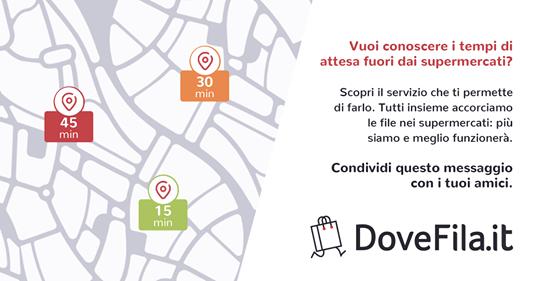 DoveFila - Tempi di attesa dei supermercati