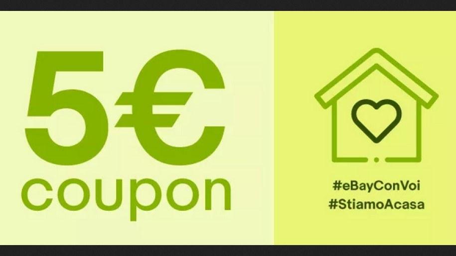 50€ Coupon ebay & Codice Sconto, Maggio 2020