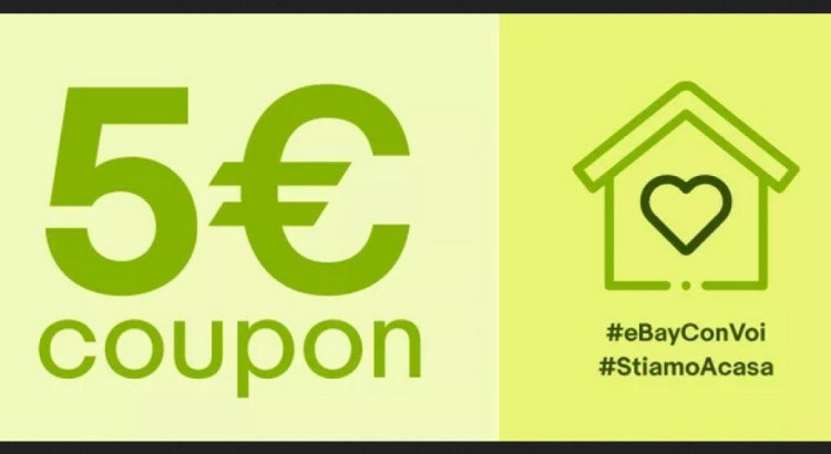 codice ebay 5 euro