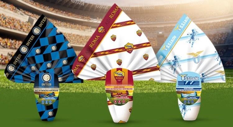 Uova di Pasqua Icam squadre di calcio serie A vinci Hoverboard