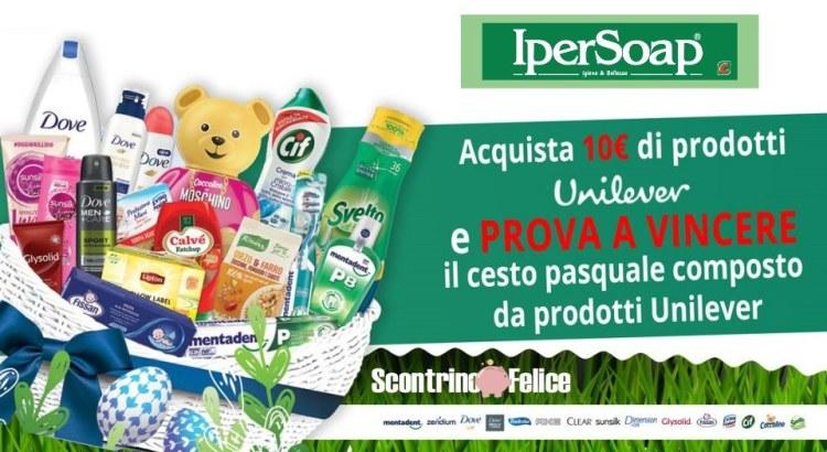 Concorso Buona Pasqua da Unilever 2020 da Ipersoap