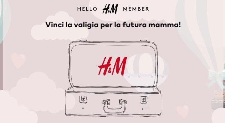Concorso H&M vinci gratis la valigia della futura mamma