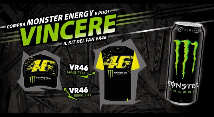 Concorso Monster Energy Pam Panorama vinci il kit del fan VR46