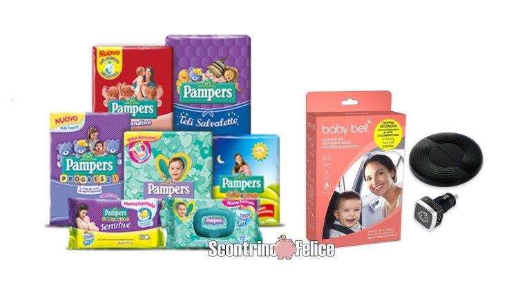 Concorso Pampers vinci dispositivo antiabbandono Baby Bell