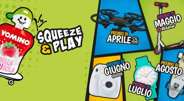 Concorso YOGURT YOMINO Squeeze and Play