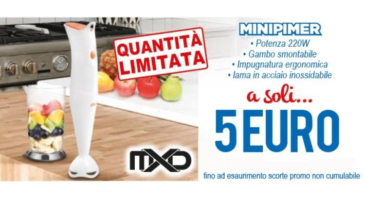 Minipimer soli 5 Euro da MD
