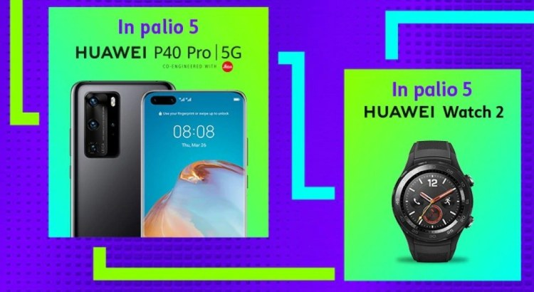 TIM Party vinci gratis Smartphone Huawei P40 PRO o smartwatch Huawei Watch 2