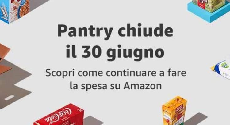 Amazon Pantry Chiude a Giugno 2020