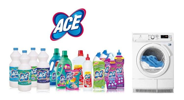 Concorso a premi ACE si prende cura del tuo bucato vinci asciugatrice Electrolux