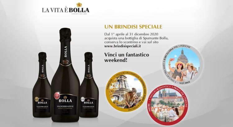 Concorso vino Bolla Brindisi Speciali