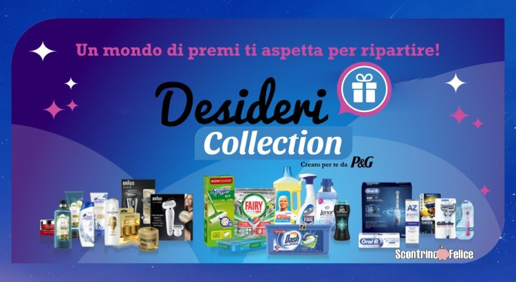 Raccolta Punti e Concorso P&G Desideri Collection