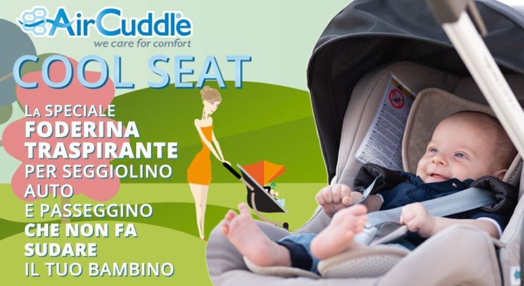Diventa tester Foderina Cool Seat per seggiolino AirCuddle