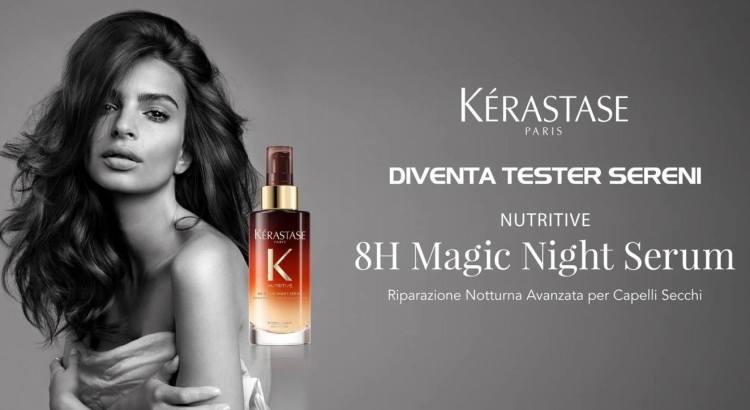 Diventa Tester Kérastase Nutritive 8H Magic Night Serum