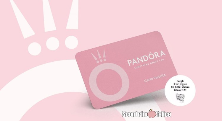 Carta Fedeltà Pandora 2020 2021