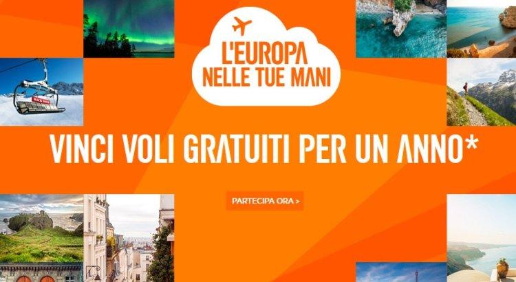EasyJet L Europa nelle tue mani vinci gratis voli per un anno per 2 persone
