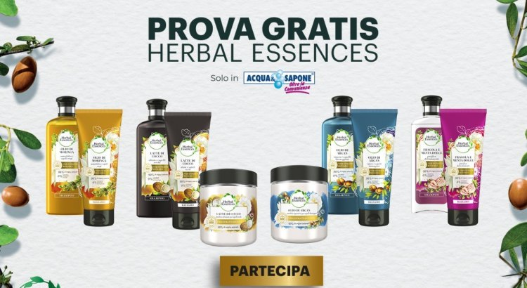 Prova Gratis Herbal Essences da Acqua e Sapone rimborso