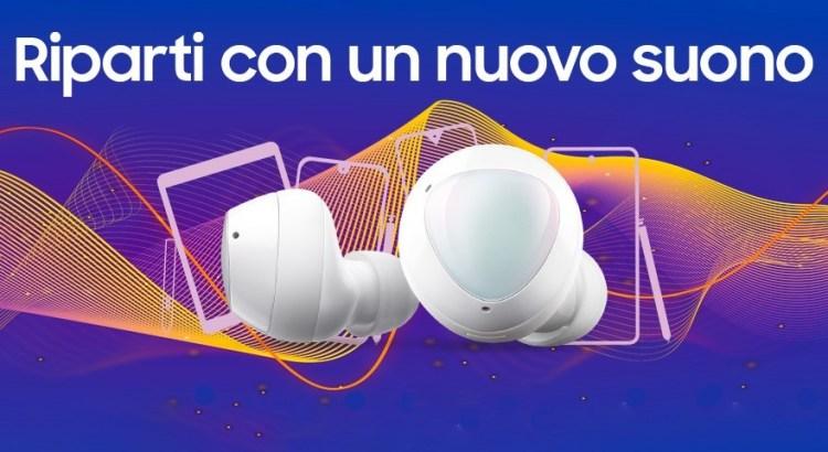 Samsung Galaxy Riparti con un nuovo suono Galaxy Buds+ Premio Certo