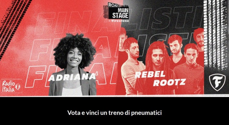 Road to the Main Stage vinci gratis treno pneumatici Firestone