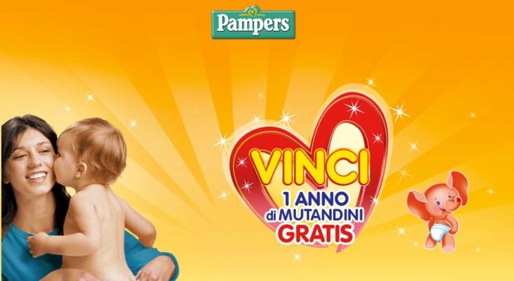 Concorso Vinci un anno di pannolini Pampers Mutandini 3° Edizione