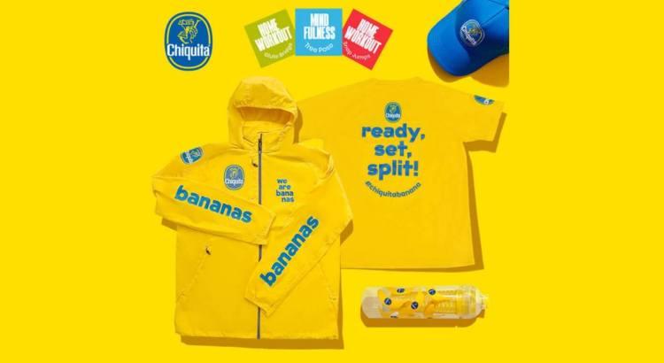 Vinci gratis borracce giacce magliette cappellini Chiquita gadget