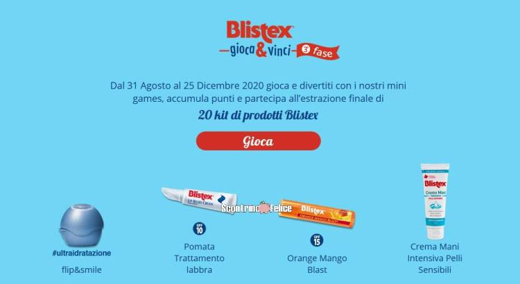 Blistex Gioca & Vinci 2020