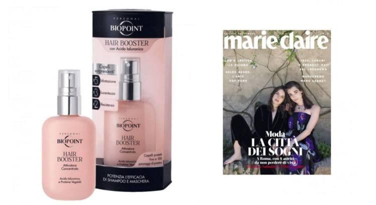Omaggi in Edicola Biopoint Hair Booster con Marie Claire