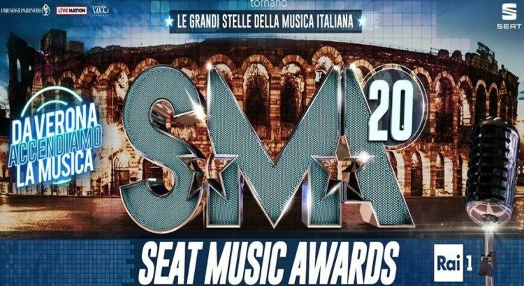 Vinci i biglietti per seat music awards 2020