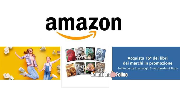 Amazon Per fare la differenza Maxi quaderni Pigna omaggio
