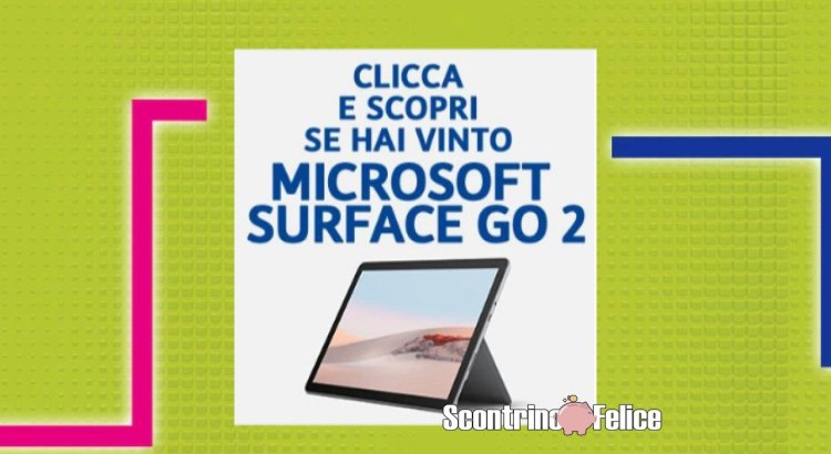 Con TIM Party vinci 10 tablet Microsoft Surface Go 2
