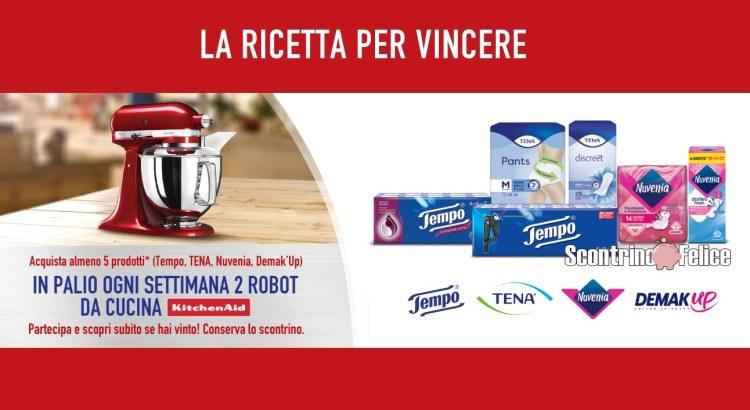 Concorso Tempo Tena Nuvenia Demakup da Carrefour e Market LA RICETTA PER VINCERE