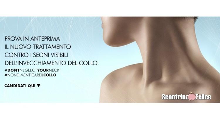 Prova in Anteprima Nazionale Trattamento per il Collo Tripeptide-R Neck Repair SkinCeuticals