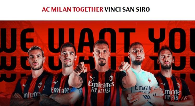 Ac Milan Together: vinci subito biglietti per Milan - Roma a San Siro