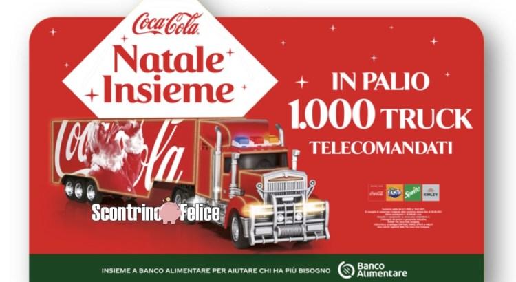 Concorso Coca Cola Fanta Sprite Kinley Natale Insieme vinci camion telecomandati