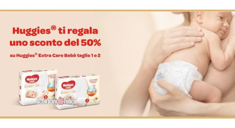 buono sconto Huggies Extra Care Prenatal
