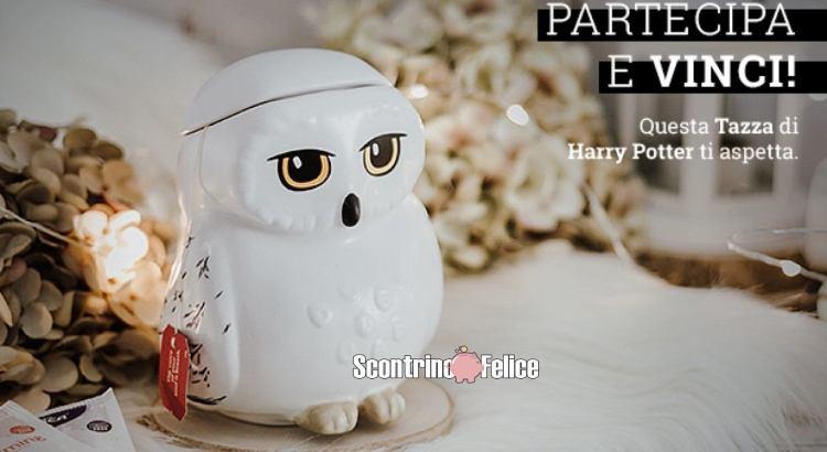 Vinci la tazza di edvige harry potter