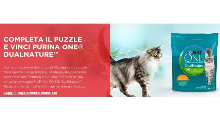Completa il Puzzle e Vinci Purina One Dualnature