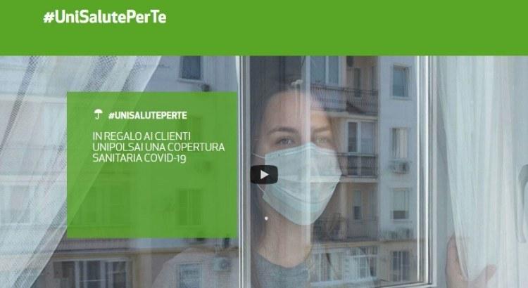 Assicurazione Gratuita Covid19 #UniSalutePerTe