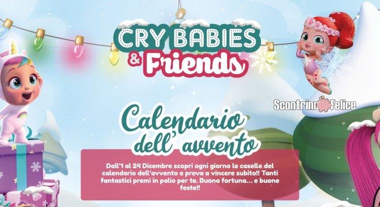 Calendario dell'avvento Crybabies