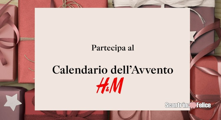 Calendario dell'Avvento H&M 2020