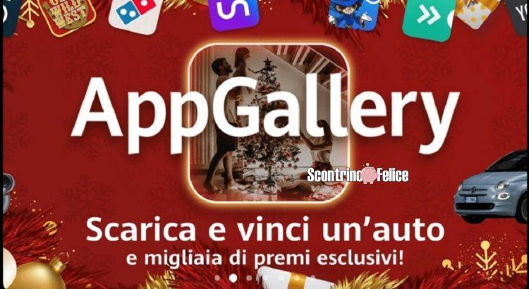 Huawei App Gallery Scarica e vinci auto e migliaia di premi esclusivi
