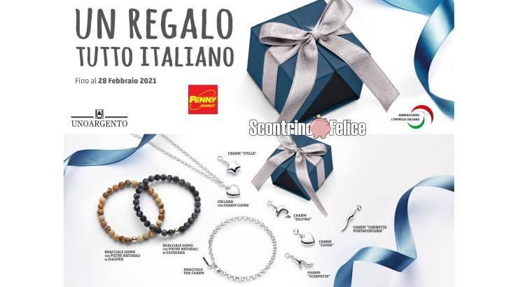 Raccolta Punti Penny Market collezione Un regalo tutto italiano UNOARGENTO