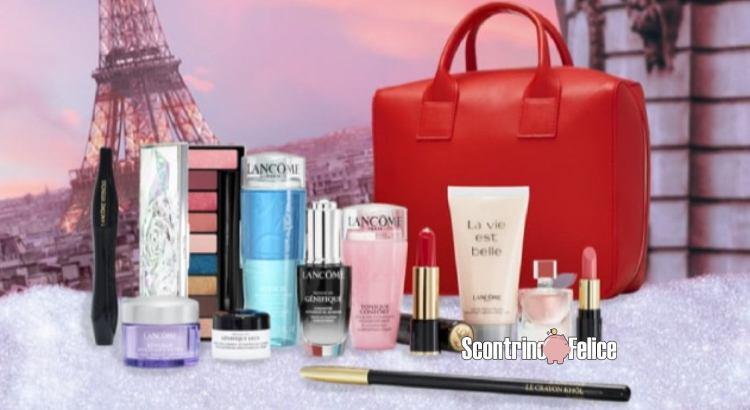 vinci gratis Beauty Box di Lancome