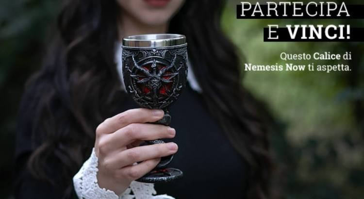 Vinci un calice del Baphomet di Nemesis Now