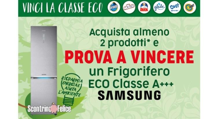Concorso Glade, Oust, Duck, Pronto, Shout,Mr Muscle e Stira & Ammira vinci 4 frigoriferi combinati Samsung