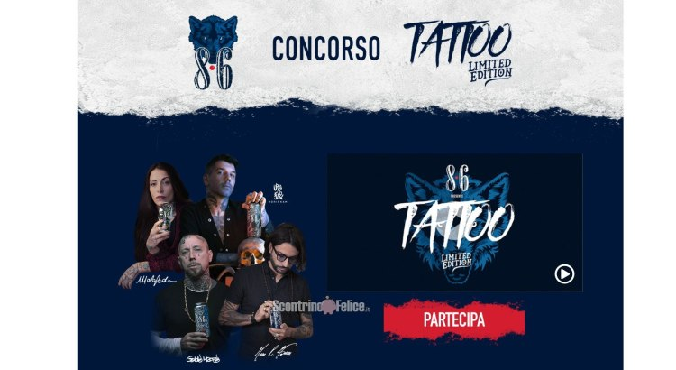 Concorso 8.6 Tattoo Limited Edition 2021